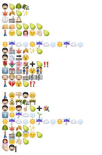 Emoji-Gedicht: Deutscher Realismus