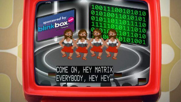 Ein Screenshot des Eurosong generators