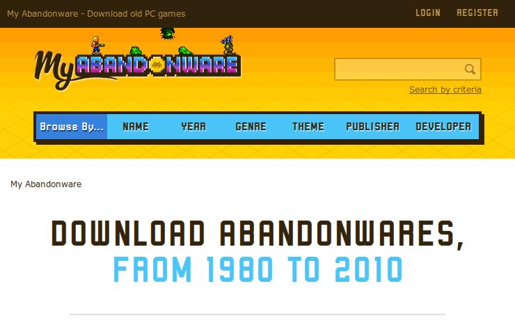 MyAbandonware.com