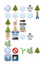 emoji advent
