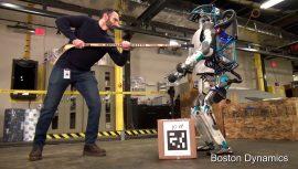 Der Boston Dynamics Roboter Atlas wird getestet