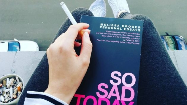 So sad today von Melissa Broder
