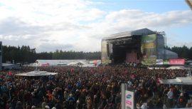 Die Bühne des Hurricane Festival